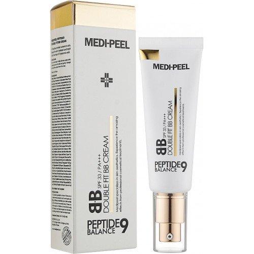 Антивозрастной ББ крем с пептидами MEDI-PEEL Peptide Balance 9 Double Fit BB Cream SPF33/PA+++