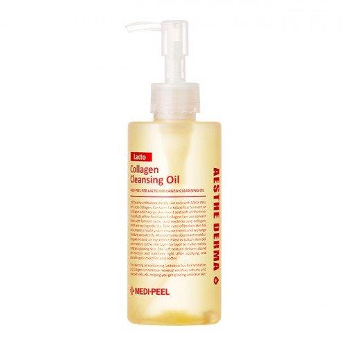 Гидрофильное масло с коллагеном и аминокислотами MEDI-PEEL Red Lacto Collagen Cleansing Oil