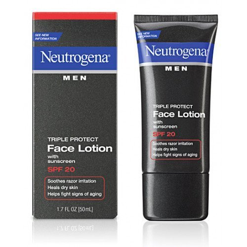 Увлажняющий лосьон Neutrogena Men Triple Protect Face Lotion
