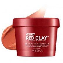 Маска для очищення пор з червоною глиною Missha Amazon Red Clay Pore Mask