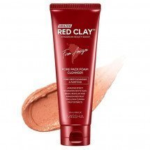 Глиняная пенка-маска Missha Amazon Red Clay™Pore Pack Foam Cleanser