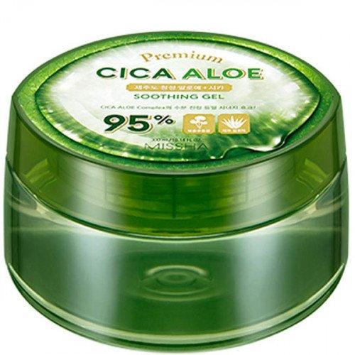 Заспокійливий гель з алое вера Missha Premium Cica Aloe Soothing Gel, 300 мл
