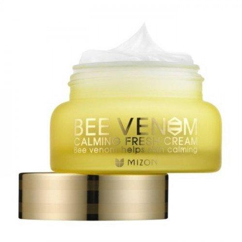 Успокаивающий крем для лица с прополисом Mizon Bee Venom Calming Fresh Cream