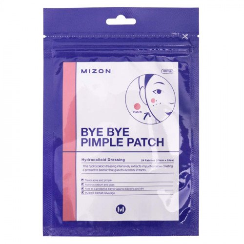 Наклейки от воспалений Mizon Bye Bye Pimple Patch