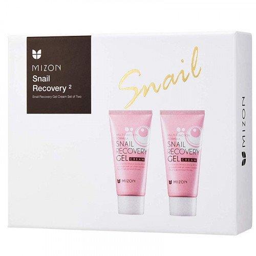 Набор Mizon Snail Recovery Gel Cream Power Of Two