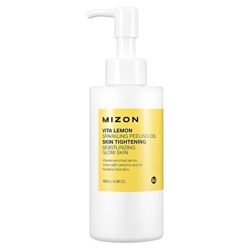 Пилинг-скатка с экстрактом лимона Mizon Vita Lemon Sparkling Peeling Gel