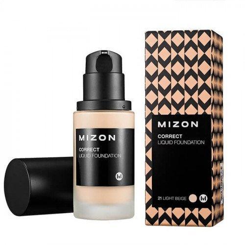 Тональная основа Mizon Correct Liquid Foundation
