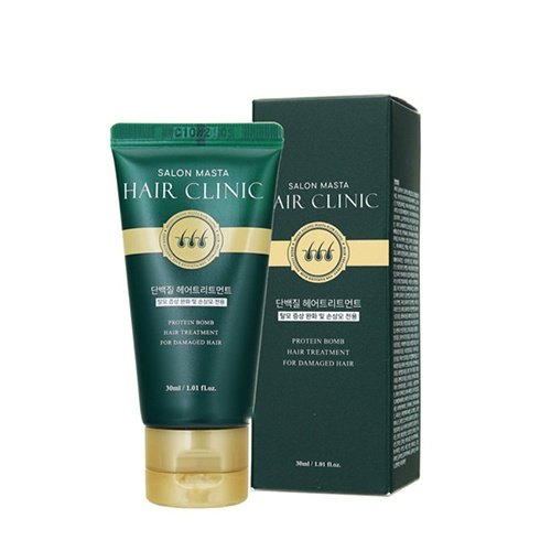 Інтенсивна маска для волосся і шкіри голови Mizon Salon Master Hair Clinic 30ml