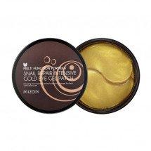 Гидрогелевые патчи с экстрактом улитки и золотом Mizon Snail Repair Intensive Gold Eye Gel Patch
