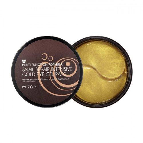 Гідрогелеві патчі з екстрактом равлика і золотом Mizon Snail Repair Intensive Gold Eye Gel Patch