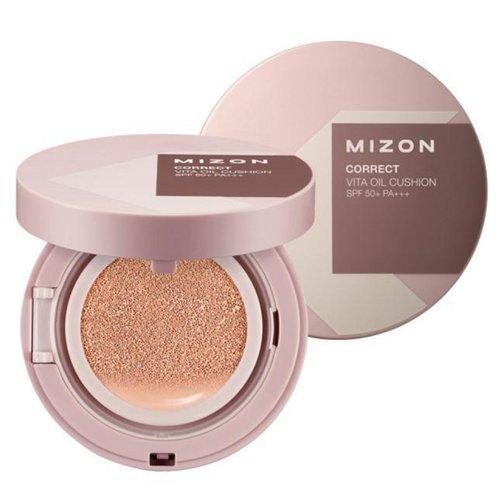 Увлажняющий кушон Mizon Correct Vita Oil Cushion SPF50+/PA+++