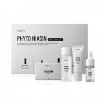 Набор осветляющих средств с ниацином NACIFIC Phyto Niacin Whitening Kit