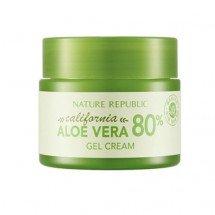 Гель-крем с алое Nature Republic California Aloe Vera 80% Gel Cream