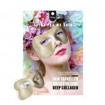 Маска для зони навколо очей з колагеном Nohj Skin Traveller Eye Mask For Spot Deep Collagen