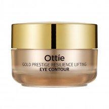Крем для восстановления и лифтинга кожи вокруг глаз Ottie Gold Prestige Resilience Lifting Eye Contour