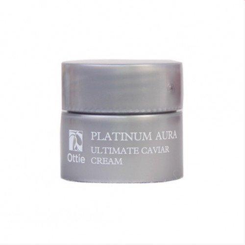 Миниатюра капсульный крем Ottie Platinum Aura Ultimate Caviar Cream Miniature