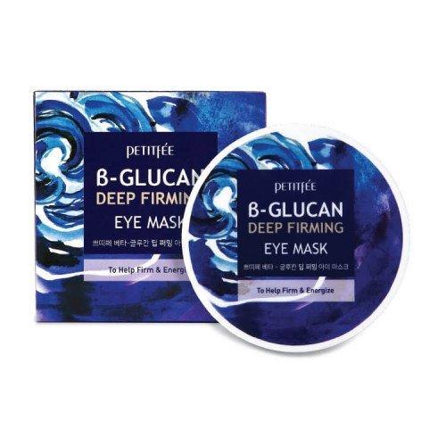 Укрепляющие патчи для глаз с бета-глюканом Petitfee B-Glucan Deep Firming Eye Mask