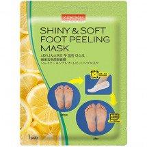 Пілінг для ніг Purederm Shiny &Soft Foot Peeling Mask