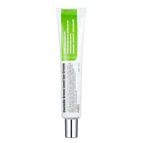 Крем для кожи вокруг глаз с центеллой и пептидами Purito Centella Green Level Eye Cream