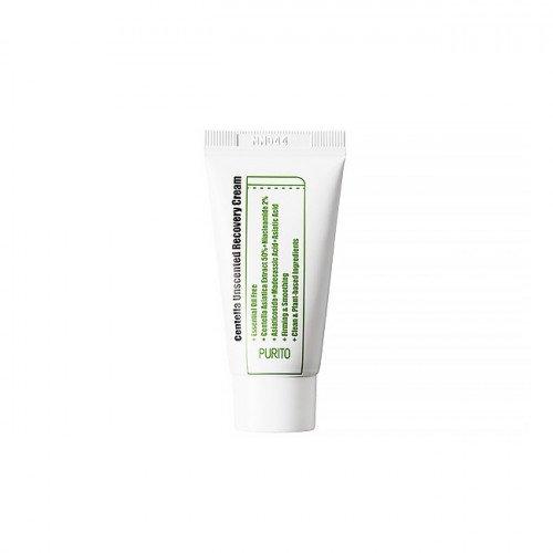Крем с центеллой для чувствительной кожи Purito Centella Unscented Recovery Cream Mini, 12 мл