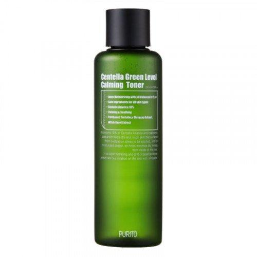 Заспокійливий тонер з екстрактом центелли азіатської Purito Centella Green Level Calming Toner