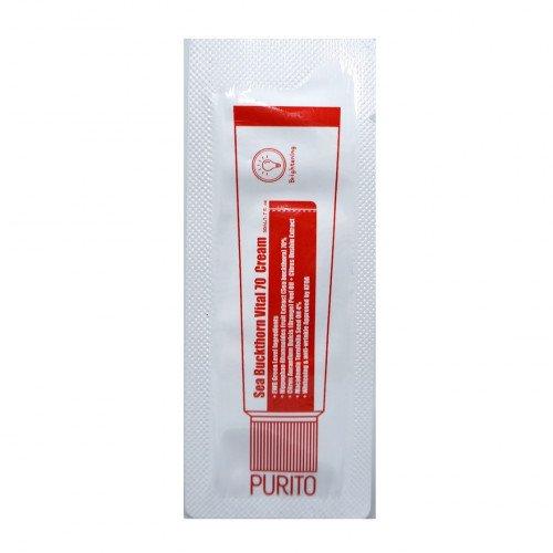Витаминный крем с облепихой и мандаринами (пробник) Purito Sea Buckthorn Vital 70 Cream Tester