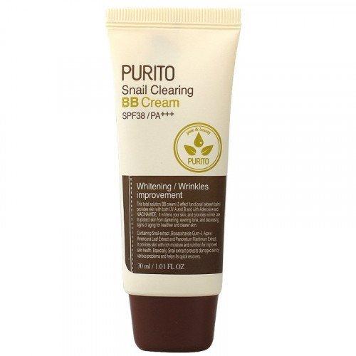 ББ крем для проблемной кожи с улиточным фильтратом Purito Snail Clearing BB Cream SPF38/PA+++