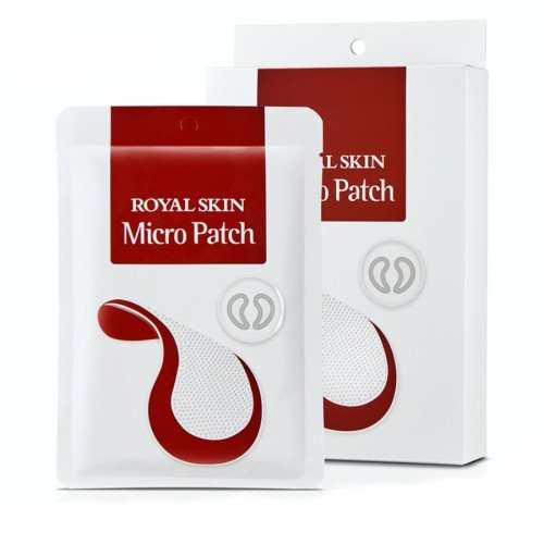 Гиалуроновые капельные мезо-патчи с микроиглами Royal Skin Micro Patch