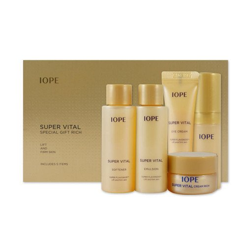 Набор миниатюр IOPE Super Vital Special Gift Rich Set