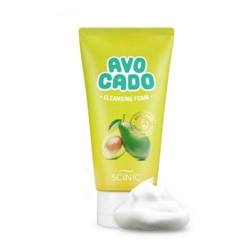 Пенка для умывания Scinic Avocado Cleansing Foam Mini