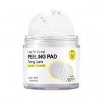 Очищающие пилинг-спонжи с AHA кислотами Scinic Feel So Good Peeling Pad