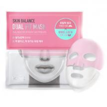 Двухфазная тканевая маска Scinic Skin Balance Dual Fit Mask