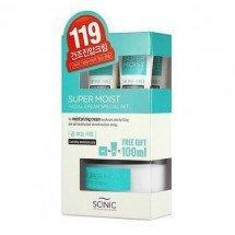 Набор супер увлажняющий крем Scinic Super Moist Facial Cream Special Set