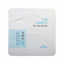 Слабокислотные пилинг диски Scinic The Simple Soft Peeling Pads Sample