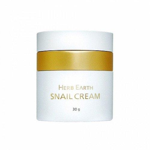 Антивіковий равликовий крем Moran Herb Earth Snail Cream 86%