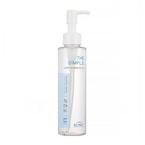 Гидрофильное масло слабокислотное Scinic The Simple Light Cleasing Oil