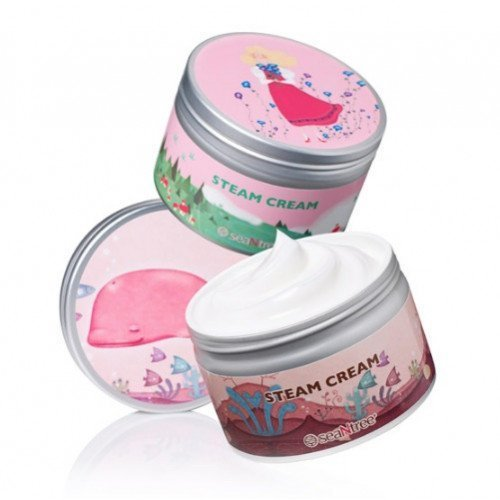 Увлажняющий крем для лица SeaNtree Steam Cream BIG