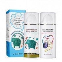 Увлажняющий и осветляющий крем Seantree Quick Brightening Cream Moisture