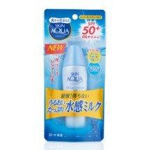 Зволожуючий сонцезахисний молочко Rohto Skin Aqua UV Super Moisture Milk SPF50 +/PA ++++