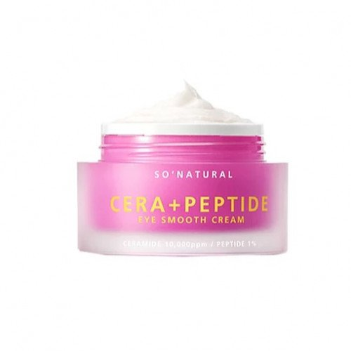 Крем для век с церамидами и пептидами So Natural Cera + Peptide Eye Smooth Cream