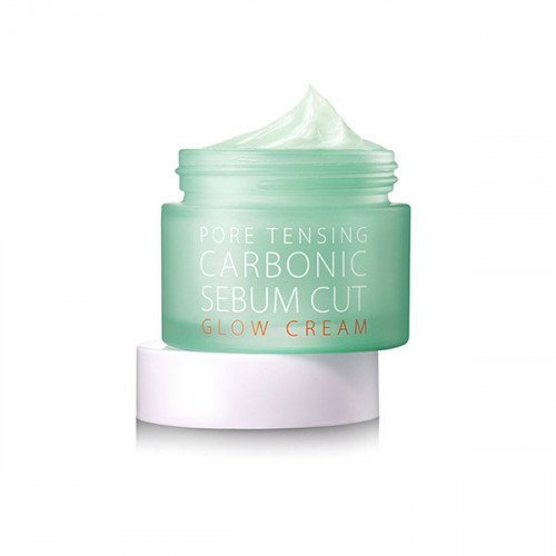 Крем-гель для сужения пор и контроля жирности кожи So Natural Pore Tensing Carbonic Sebum Cut Glow Cream