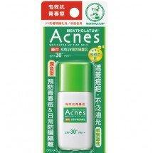 Солнцезащитное молочко для проблемной кожи Mentholatum Acnes Medicated UV Tinted Milk SPF 50 PA++