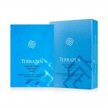 Інтенсивно зволожуюча тканинна маска з гіалуронової комплексом TERRAZEN AQUA RECHARGE TREATMENT MASK