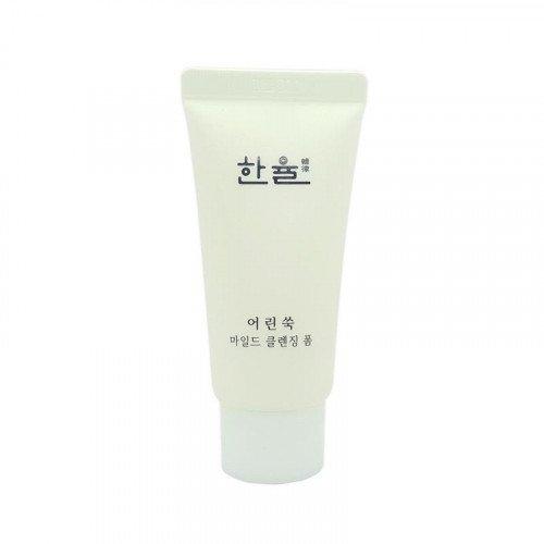 Очищающая пенка с экстрактом молодой полыни Hanyul Pure Artemisia Mild Cleansing Foam, 32 мл