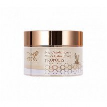 Крем-бальзам с прополисом The Yeon Jeju Canola Honey Water Balm Cream Propolis Mini