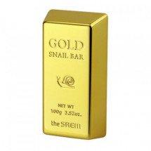 Мыло для умывания с экстрактом улитки и золотом The Saem Gold Snail Bar