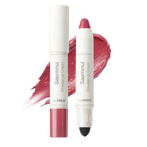 Помада-карандаш The Saem Saemmul Smudge Lip Crayon