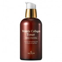 Коллагеновый тонер The Skin House Wrinkle Collagen Toner