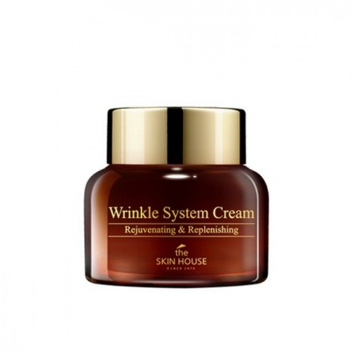 Антивозрастной разглаживающий крем The Skin House Wrinkle System Cream