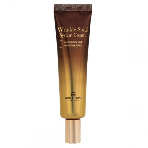 Улиточный крем The Skin House Wrinkle Snail System Cream Tube